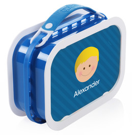 Just Like Me (Boy-Blue) Personalized Yubo® Lunchbox