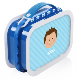Just Like Me (Boy- Lite Blue) Personalized Yubo® Lunchbox