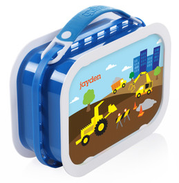 Construction Site Personalized Yubo® Lunchbox