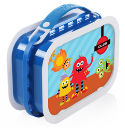 Monster Attack Personalized Yubo® Lunchbox