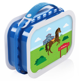 Cute Race Horse Personalized Yubo® Lunchbox