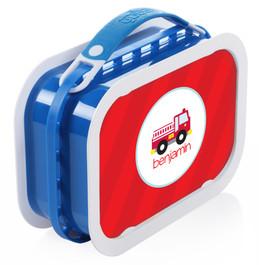Cute Little Firetruck Personalized Yubo® Lunchbox