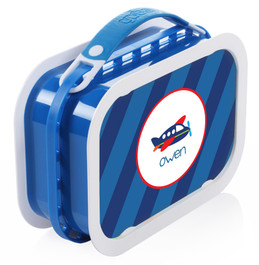 Airplane Ride Personalized Yubo® Lunchbox