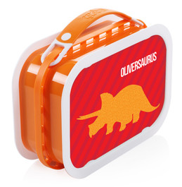 Dino and Me (Red) Personalized Yubo® Lunchbox