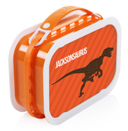 Dino and Me (Orange) Personalized Yubo® Lunchbox