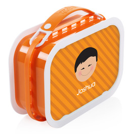 Just Like Me (Boy-Orange) Personalized Yubo® Lunchbox