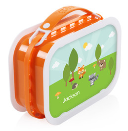 Cute Animals in the Forest Personalized Yubo® Lunchbox