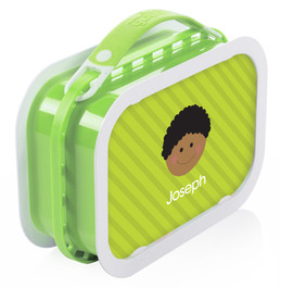Just Like Me (Boy-Green) Personalized Yubo® Lunchbox