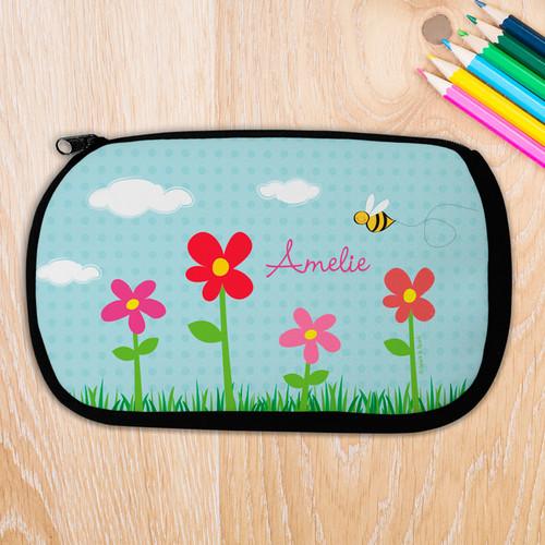 Spring Flowers Pencil Case