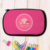 Three Sweet Cupcakes Personalized Pencil Case For Kids