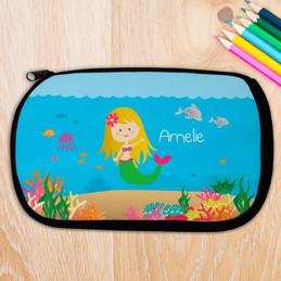 Blonde Sweet Mermaid Pencil Case