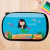 Asian Sweet Mermaid Pencil Case