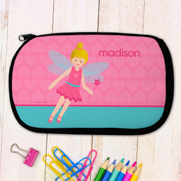 Blonde Fairy Girl Pencil Case