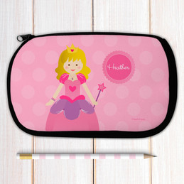 Cute Blonde Princess Pencil Case