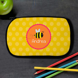 Little Bee Personalized Pencil Case For Kids