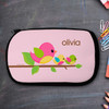 Singing Birds Personalized Pencil Case For Kids