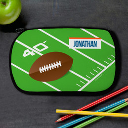 Football Fan Personalized Pencil Case For Kids