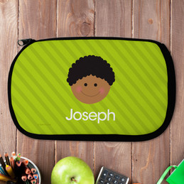 Just Like Me Boy- Green Pencil Case