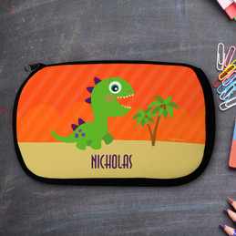 Baby Dinosaur Personalized Pencil Case For Kids