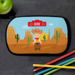 Cowboy Pencil Case