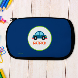 Cute Little Car Personalized Pencil Case For Kids