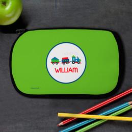 Choo Choo Train Personalized Pencil Case For Kids