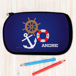 Nautical Ways Pencil Case by Spark & Spark
