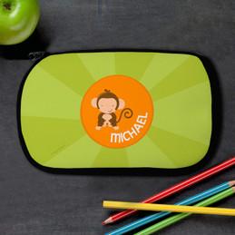 Cute Baby Monkey Pencil Case by Spark & Spark