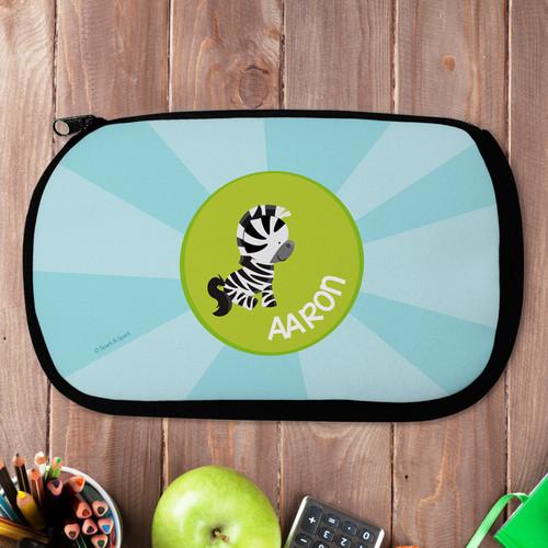 Cute Baby Zebra Pencil Case by Spark & Spark