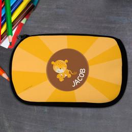 Cute Baby Cheetah Pencil Case by Spark & Spark
