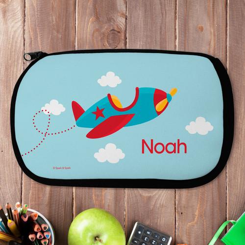 Fly Little Plane Pencil Case by Spark & Spark