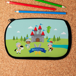 The Three Knights Pencil Case by Spark & Spark