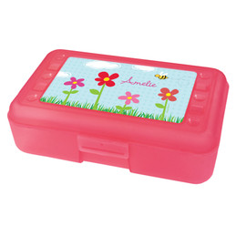 spring flowers pencil box for kids