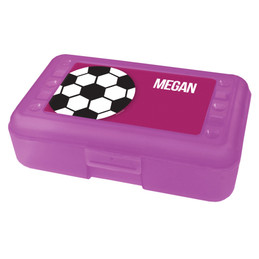 soccer ball pencil box for kids