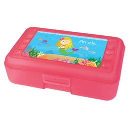 Sweet Mermaid Personalized Pencil Box