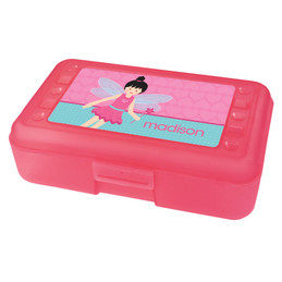 Fairy Girl Personalized Pencil Box