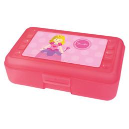 Cute Princess Personalized Pencil Box