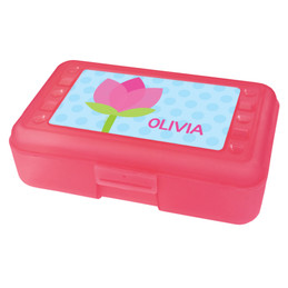 cute tulip pencil box for kids