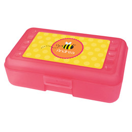 little bee flying pencil box for kids