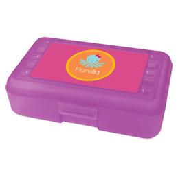cute octopus pencil box for kids