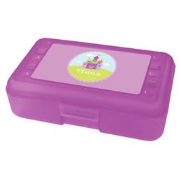 heart castle pencil box for kids