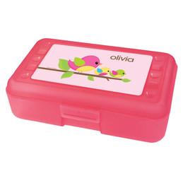 three little birds pencil box for kids