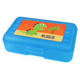 Baby Dinosaur Personalized Pencil Box