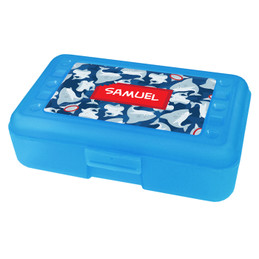 Bite them Back Personalized Pencil Box