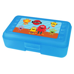 Monster Attack Personalized Pencil Box