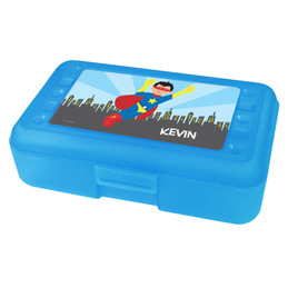 A Cool Superhero Personalized Pencil Box