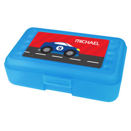 Super Fast Car Personalized Pencil Box