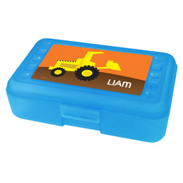 Fun Tractor Personalized Pencil Box
