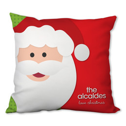 Mr. Santa Claus Personalized Pillows