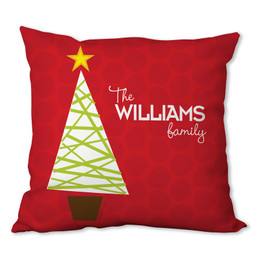 A Modern Kind of Tree Personalized Pillows